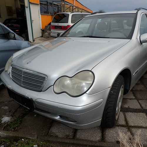 Mercedes Benz C-Klasse W203 Kombi Silber